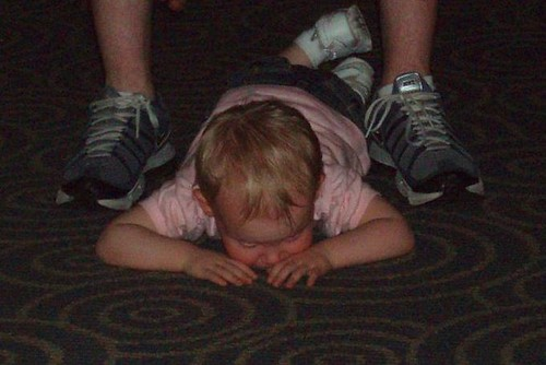 Tantrum at Disney World, 2009