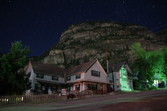 Ouray, Colorado night sky.