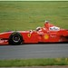 Michael Schumacher Ferrari F300 F1. 1998 British GP Test Silverstone.