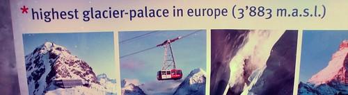 Klein Matterhorn - Palácio de gelo