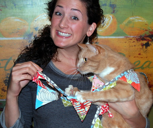 lacy and ned modeling bunting