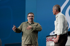Brian Geiger and Greg Bollella, JavaOne Keynote, JavaOne + Develop 2010 San Francisco