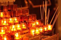 Light The Way... (Baking is my Zen) Tags: light fire candles stpatrickscathedral romancatholic iwillfollow christomlin lighttheway flickeringcandle carmenortiz canonrebelt1i bakingismyzen
