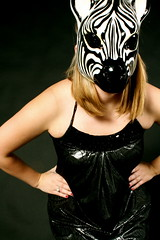 Glam Zebra (love.andi) Tags: italy film animal cat nude wooden carved mask zebra expressive venetian