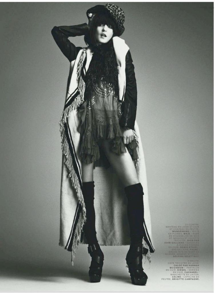 blanket jacket irina lazareau jalouse magazine