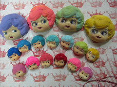 Charlotte Head Doll Part Value Pack!