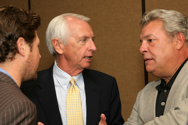 Governor Steve Beshear and Eddie Jacobs