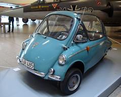 Heinkel Kabine Model 153 (mikkelz) Tags: holiday museum germany munich mnchen deutschland bavaria heinkel 2010 deutschesmuseum 153 kabine heinkelkabine heinkelkabinemodel153
