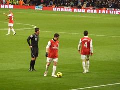 Nasri and Fabregas (wonker) Tags: game london english ball football team chelsea grove stadium soccer north emirates match vs samir islington highbury arsenal footy derby league premiership ashburton gunners ashburtongrove emiratesstadium northlondon premierleague epl fabregas nasri cesc cescfabregas englishpremierleague samirnasri arsenalvschelsea thepremiership arsenal31chelsea arsenal3vs1chelsea