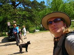 Heading out of Corwina Park