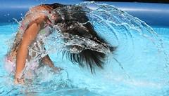 AquaArt - water pool swimming spash action stop aquaart