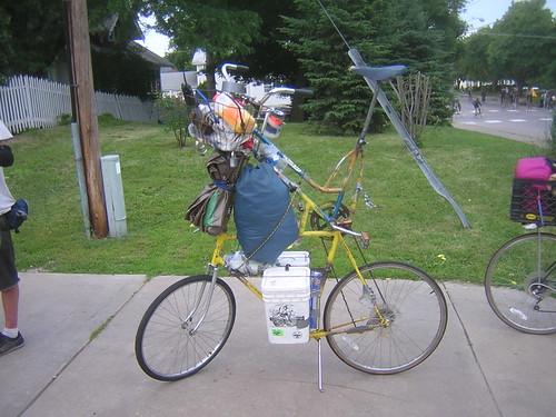 Tallbike Packing
