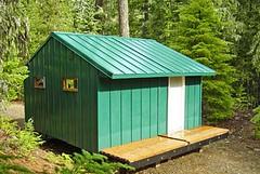 Cascade Huts hut