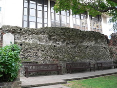 29. Remains close to the current road called London Wall