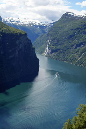 gerainger fjord from northern viewpoint