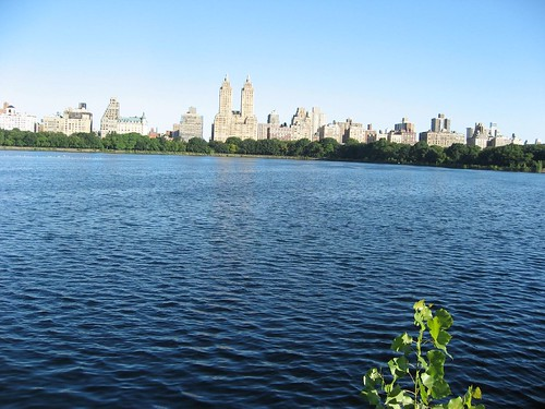 Huge Reservoir in Central Park
