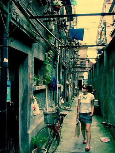 me in tianzifang,Shanghai