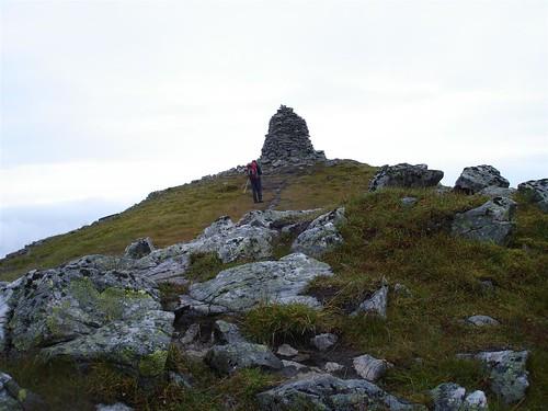 A' Chralaig cairn