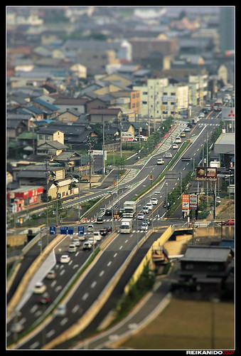 Northern Gifu, shallow DoF