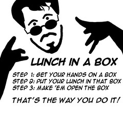 Lunch in a Box comes out of the closet