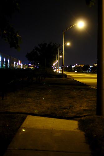 the sidewalk ended