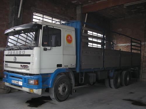 camió Pegaso Troner a Les Masies de Voltregà