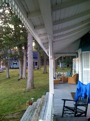 Porch @ the river (playswithfire) Tags: thousandislands stlawrenceriver iphone roundisland