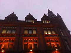 Hard Rock Cafe Nottingham (Little Empress) Tags: nottingham evening gothic hardrock redbrick