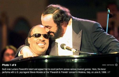 Pavarotti & Wonder