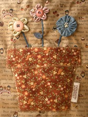 Country Patch bag - pocket par PatchworkPottery