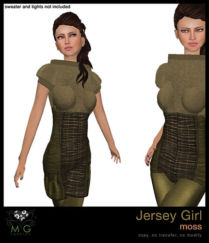 [MG fashion] Jersey Girl (moss)