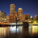 Boston+Downtown+at+Night