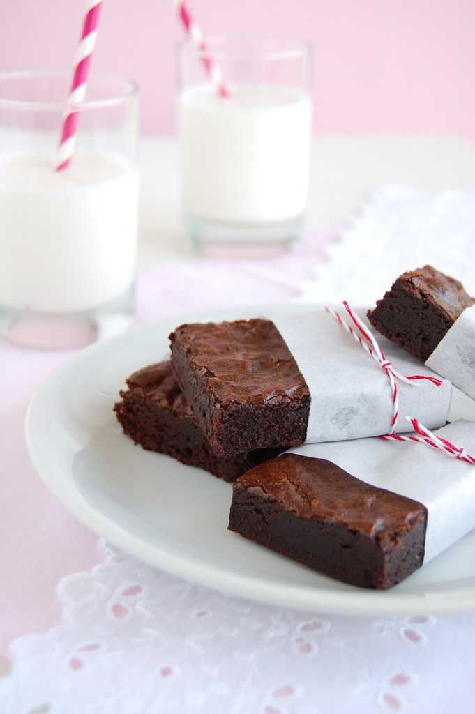 Best cocoa brownies / Brownies de cacau