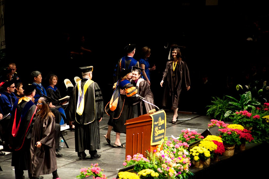 Walking the Stage and Getting a Kiss