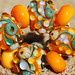 Dirty Martini Beach Party Set (13 Beads) - Lampwork Glass by Kate Sullivan - FHFteam - SRA