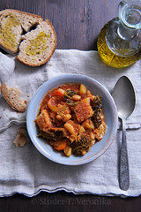Ribollita (StuderV) Tags: food bread soup italian nikon rustic vegetable oliveoil foodphotography ribollita foodstyling d700 tabletopstyling