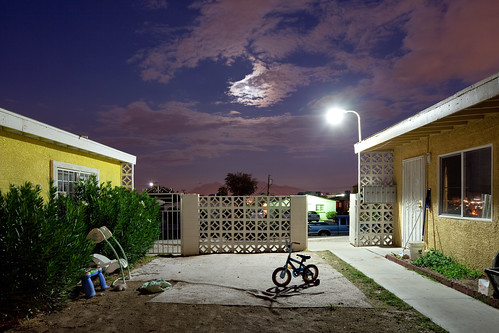 Bicycle, Light, Moon