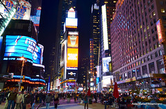Times Square (Rafakoy) Tags: pictures street city nyc light people test signs ny newyork cars car sign night digital