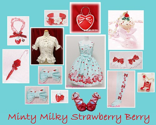 Minty Milky Strawberry Berry