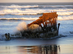 Shipwreck in surf (k6bsr) Tags: california bridge oregon fishing surf sandra spit modesto astoria wilson push tug rough 20 branden buoy megler fv clatsop vesel k6bsr kd6huc