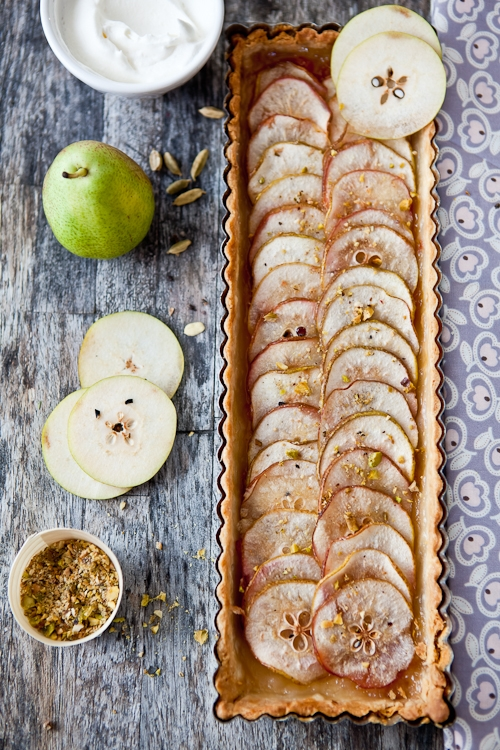 Pear Tarte Fine