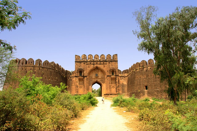 Rohtas Fort wide View