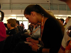 Chantal Slagmolen (Martin Kliehm) Tags: london artist comic designer atmedia atmedia2007 atmedia07 upcoming:event=110091 chantalslagmolen ltw2007atmediawrapup