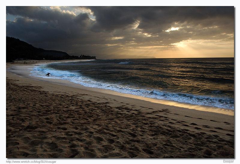 hawaii beach sunset. Sunset beach, Hawaii