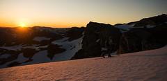 Andr i solnedgang (Jarle Ekanger) Tags: blue sunset snow nature norway norge skiing telemark natt sn solnedgang kvamskogen kvam fuglafjell iendefjell