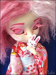 Hanami (Emily Bee  Follow The White Rabbit) Tags: pullip custom hanami zombuki