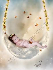 (mylaphotography) Tags: sky baby moon art fairytale stars photo digitalart butterflies manipulation fairy fantasy editing rahi childphotography jaber mylaphotography michiganstudiophotography fairytalephotography