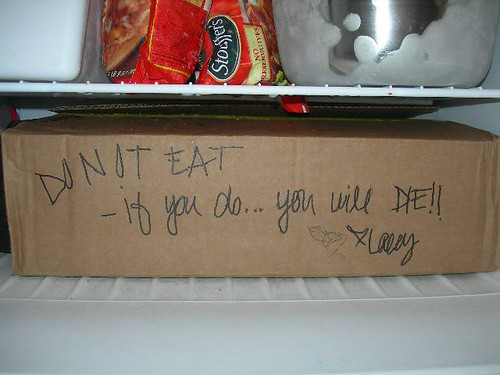 DO NOT EAT - if you do...you will DIE!! <3 Lacy
