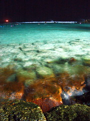 Maldives Fall (Ashwa Faheem ( avva )) Tags: ocean sea night flickr indian trips maldives avva theartificialbeach
