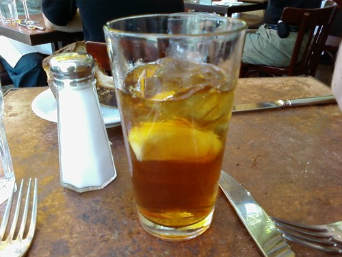 Iced Tea from Zuni Cafe